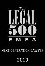 Legal 500 - Next generation lawyer